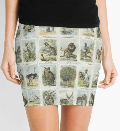 50 Animals and Birds Mini Skirt