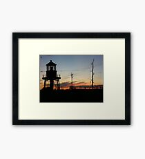 Cory's Lighthouse 2 Framed Print