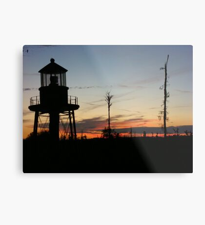 Cory's Lighthouse 2 Metal Print