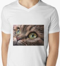 cat with green eyes T-Shirt