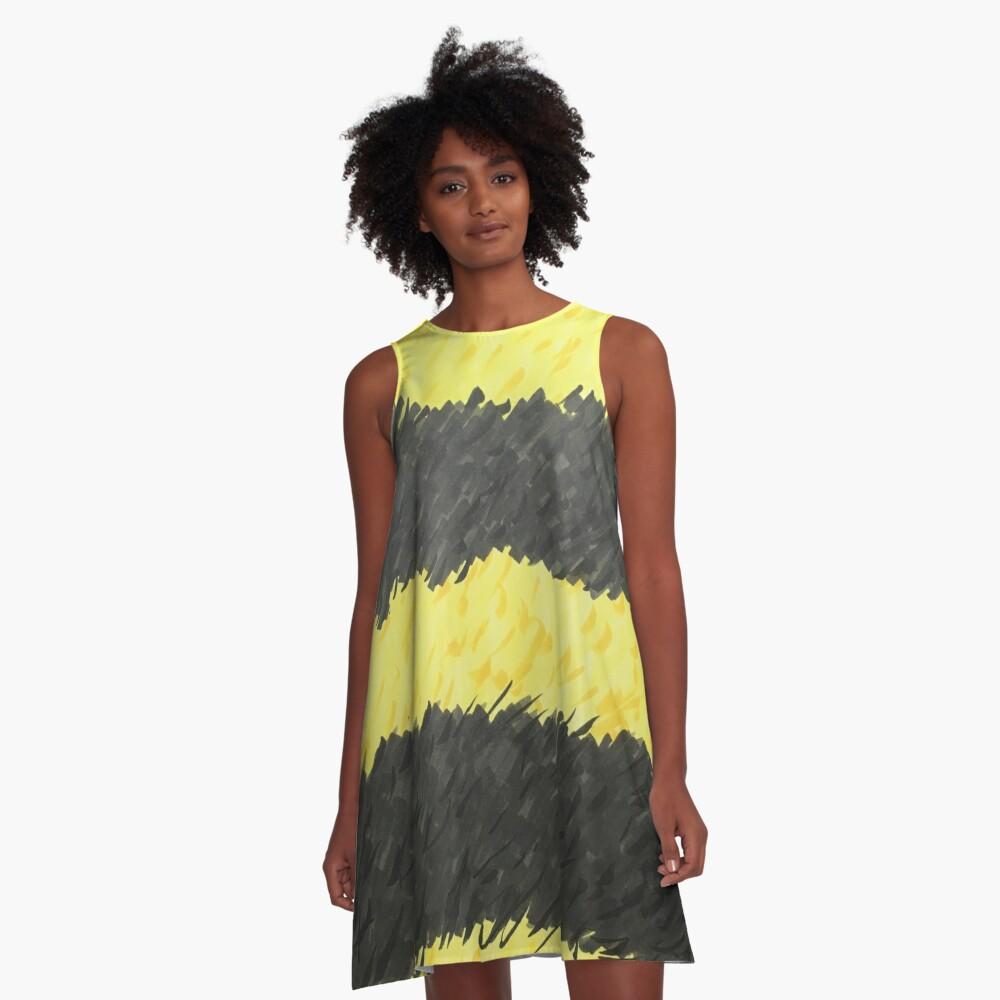 Bumblebee Dress A-Line Dress Front