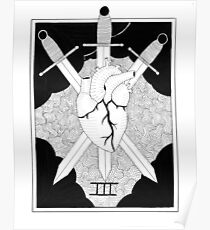 Three of Swords Poster