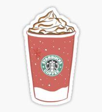 red cup starbucks sticker