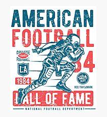 American Football Photographic Print