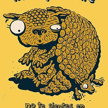No Gliptodonte, no te sientes en el Pudu! by morden