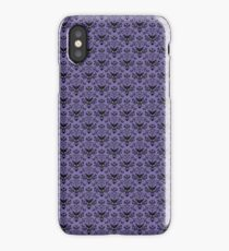 Haunted Mansion Wallpaper iPhone Case/Skin