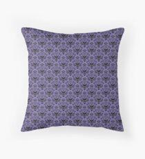 Haunted Mansion Wallpaper Throw Pillow