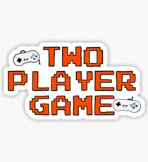 Two Player Game - Song From Be More Chill Sticker