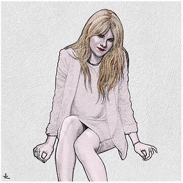 LILY RABE. by zinakorotkova
