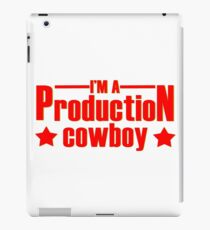 Production cowboy iPad Case/Skin