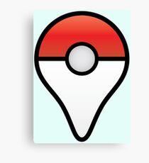 Pokemon Go Map Location Point Canvas Print