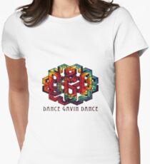 Dance Gavin Dance (Tie-Dye) Women's Fitted T-Shirt
