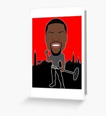 Kevin Hart Hot Design Greeting Card