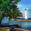 Lighthouse Grand Lake St Mary's by jpryce