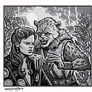 Ace and Karra  by Raine  Szramski