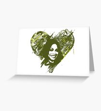 Zoe Saldana is Love Greeting Card