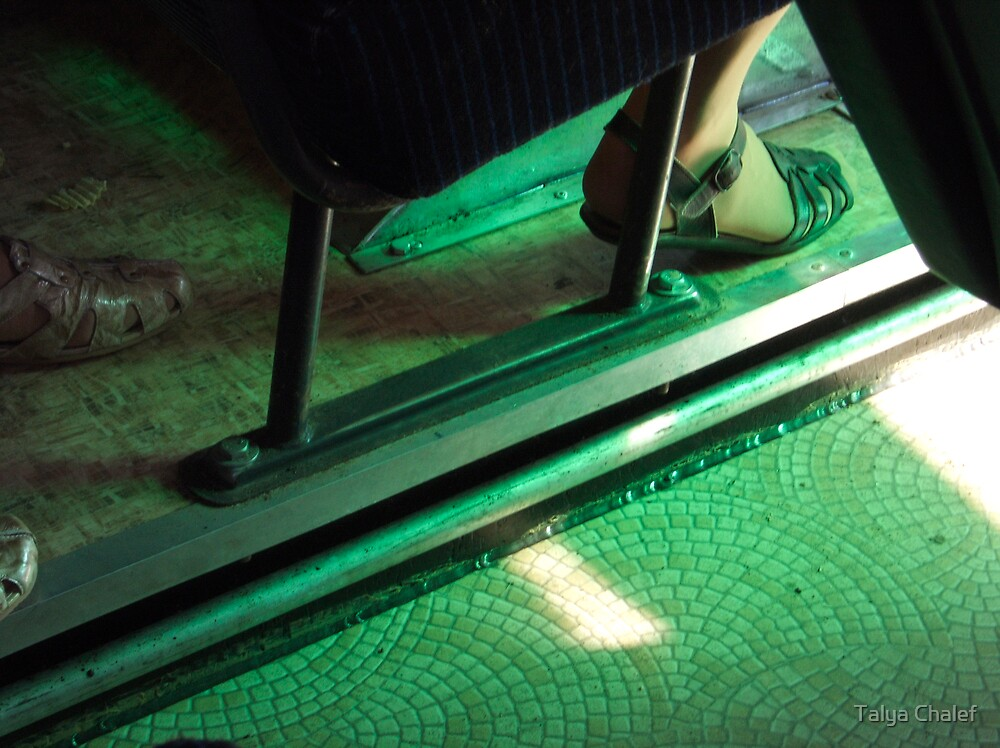 that green shoe by Talya Chalef