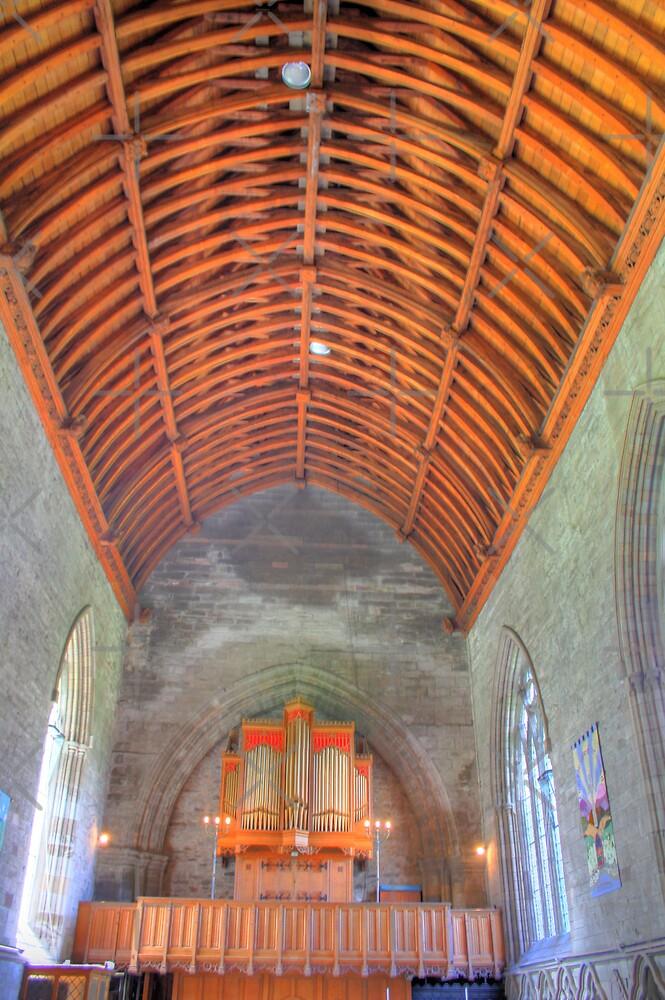 Inside Dunkeld Parish Church II by Tom Gomez