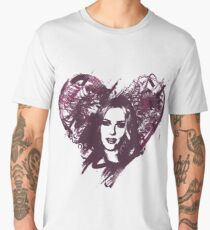 Scarlett Johansson is Love Men's Premium T-Shirt