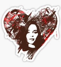 Emilia Clarke is Love Sticker