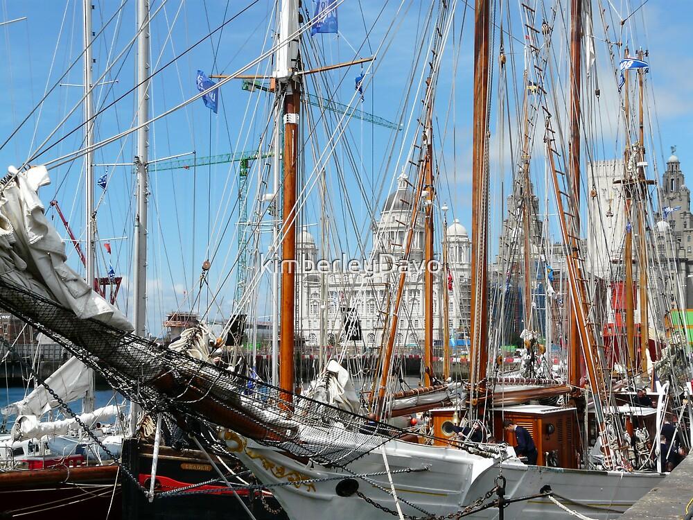 Tall Ships at Liverpool by Kimberley Davitt