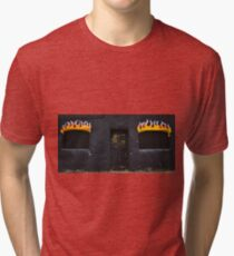 Facade of Fire  Tri-blend T-Shirt