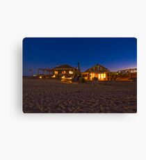 Beach Bar Canvas Print