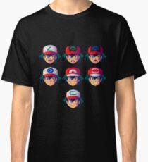 Ash Ketchum / Satoshi x7 Classic T-Shirt
