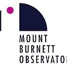 Mount Burnett Observatory Logo by Mount Burnett Observatory
