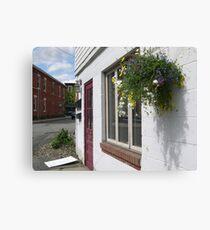 Storefront Canvas Print