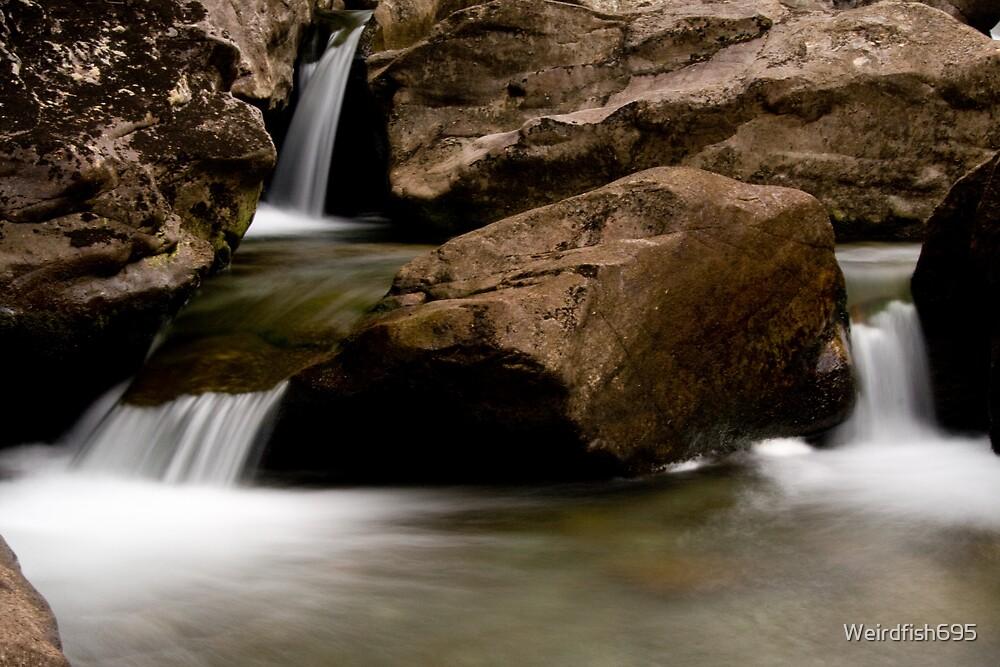 Duddon Valley Waterfall by Weirdfish695