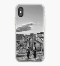 Walking in ancient Rome  iPhone Case