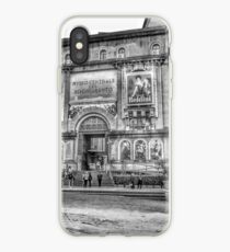 Taking a break on vacation in Rome  iPhone Case