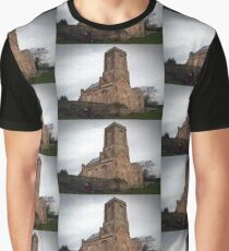 Woodspring Priory, Somerset, England Graphic T-Shirt