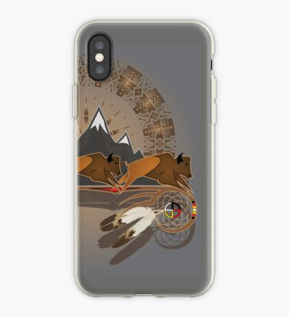 Buffalo People iPhone Case