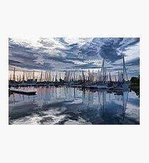 Sailboat Summer Impressions Photographic Print