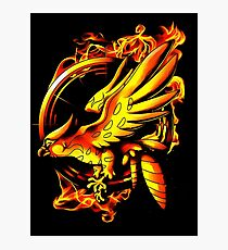 catching fire Photographic Print