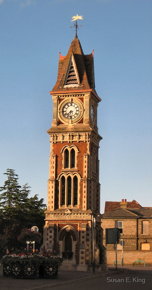 Newmarket Clock Tower by Susan E. King