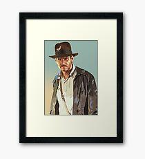 Raiders Framed Print
