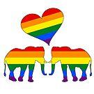 Regenbogen Elefanten von DelirusFurittus