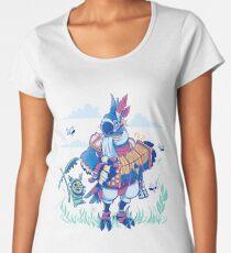 Play the Ancient Song Kass BotW Women's Premium T-Shirt