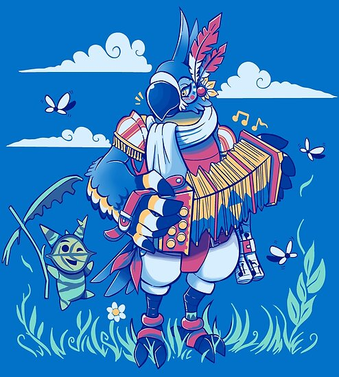 Play the Ancient Song Kass BotW by TechraNova