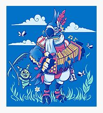 Play the Ancient Song Kass BotW Photographic Print