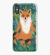 Fox Yoga iPhone Case/Skin