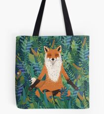 Fox Yoga Tote Bag