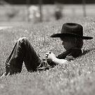 Even Cowboys Need Their Nap by Yuann Wang