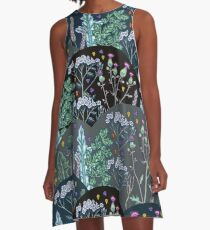 Summer meadow A-Line Dress