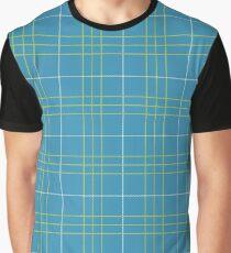 Grim Fandango - Meche Plaid Pattern Graphic T-Shirt