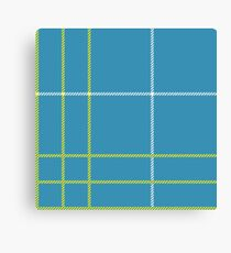 Grim Fandango - Meche Plaid Pattern Canvas Print