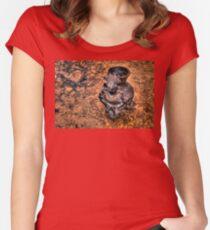 Tula Statue (HDRI) Women's Fitted Scoop T-Shirt